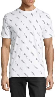 Calvin Klein Jeans Graphic Short-Sleeve Cotton Tee