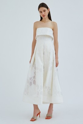 C/Meo INVERT GOWN Ivory
