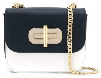 Tommy Hilfiger oversized lock crossbody bag