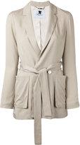 Blumarine waist-tie jacket - women - Polyester/Acetate/Lyocell - 38