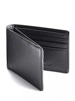 Jeff Banks Black Slimline Wallet