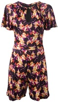 Saloni floral playsuit