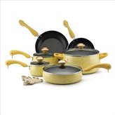 Paula Deen 15-pc. Nonstick Signature Porcelain Cookware Set, Butter by