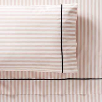 Pottery Barn Teen The Emily &amp Meritt Pirate Stripe Pillowcases, Set of 2, Blush