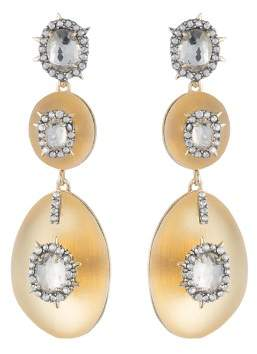 Alexis Bittar Double Lucite Drop Earrings