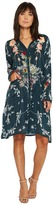 Johnny Was Dover Block Embroidery Dress with Slip Women's Dress