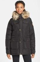 Burton 'Essex' Waterproof Insulated Jacket with Faux Fur Trim