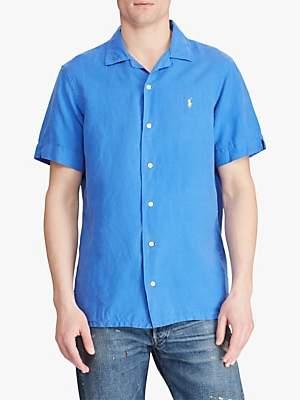 Ralph Lauren Polo Short Sleeve Cuban Collar Shirt