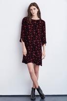 Mawr Ruffle Madrid Print Dress