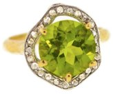 Mabel Chong - Peridot Pave Ring-Wholesale