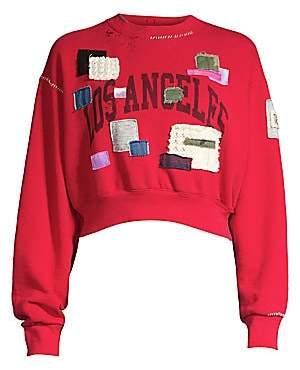 Riley Women's West Coast Flea Patch Crewneck Sweater