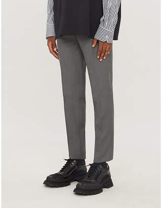Jil Sander Thynne slim-fit straight wool-blend trousers