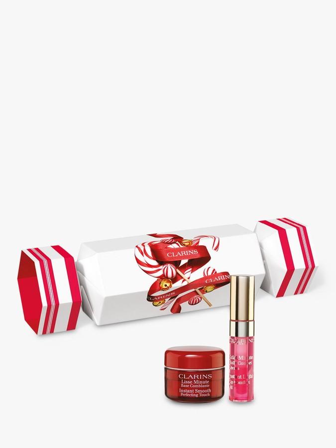 Clarins Face & Lips Cracker Makeup Gift Set