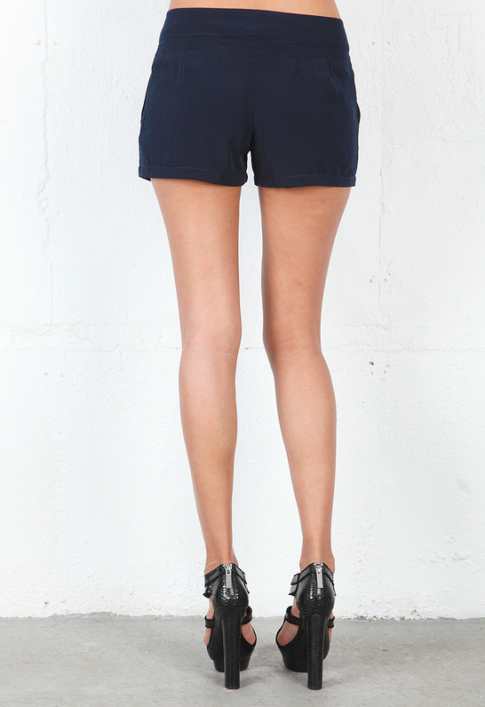 Rory Beca Harrison Short in Deep Blue -