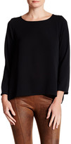 Insight Long Sleeve Pleated Blouse