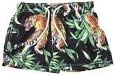 MC2 Saint Barth Tiger Print Nylon Swim Shorts
