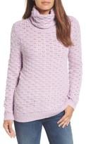 Halogen Women's Bubble Stitch Sweater