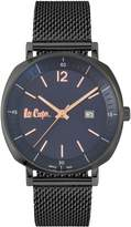 Lee Cooper Gunmetal-Tone Mesh Bracelet Watch