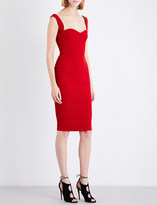 Victoria Beckham Sweetheart crepe dress