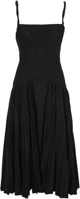 Proenza Schouler Pleated Poplin Dress