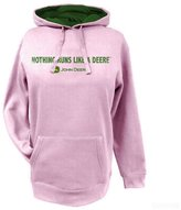 John Deere NRLAD Womens Fleece Pull Over Hoodie