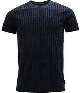 French Connection Men's Tribal Stripe Short Sleeve T-Shirt