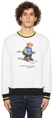 Polo Ralph Lauren Teddy Print Cotton Blend Sweatshirt