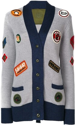 Mr & Mrs Italy Multi-Patch Knitted Coat