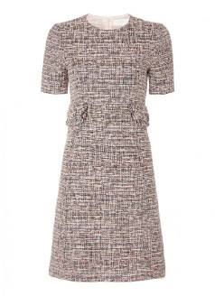 Goat Joelle Tweed Shift Dress - 14 (UK)