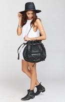 MUMU Pamela V ~ Vagabond Bucket Bag ~ Black