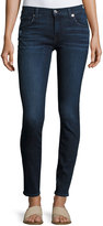 7 For All Mankind Gwenevere Medium-Wash Destroyed Ankle Jeans