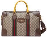 Gucci Soft GG Supreme duffle bag with Web