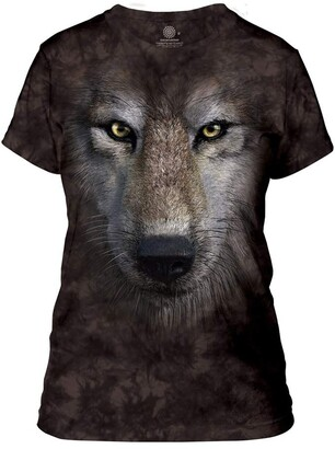 The Mountain Women's Wolf Face Apparel