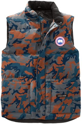 Canada Goose Freestyle Slim-Fit Camouflage Down Puffer Vest