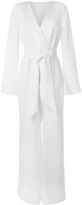 Galvan Marina long-sleeve jumpsuit