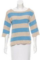By Malene Birger Oversize Striped Sweater