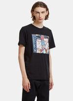 Yang Li Track-List Chicken Leg T-Shirt in Black