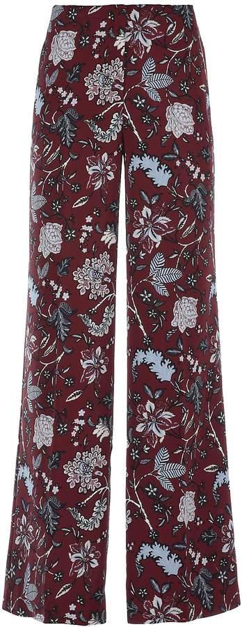 Diane von Furstenberg Silk Trousers