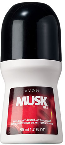 Avon Musk Fire for Men Roll-On Anti-Perspirant Deodorant