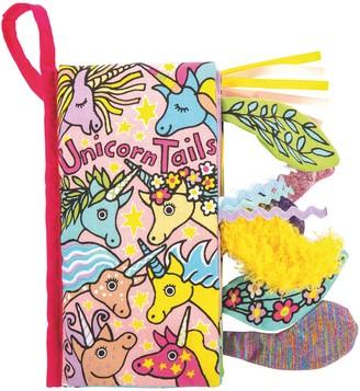 Jellycat Unicorn Tails Soft Book