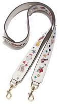 Anya Hindmarch Wink Stickers Leather Guitar Shoulder Strap