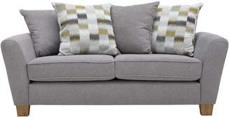 Argos Home Auria 3 Seater Fabric Sofa