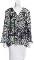 Matthew Williamson Silk Printed Top