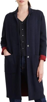 Alex Mill Wool Blend Hall Sweater Coat