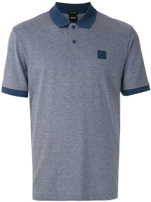HUGO BOSS Logo Patch Polo Shirt