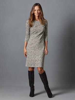 J.Mclaughlin Sophia Dress in Python Texture