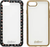 Cath Kidston Lucky Rose Printed Edge Set of 2 iPhone 7 Cases