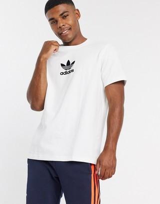 adidas Premium t-shirt in white