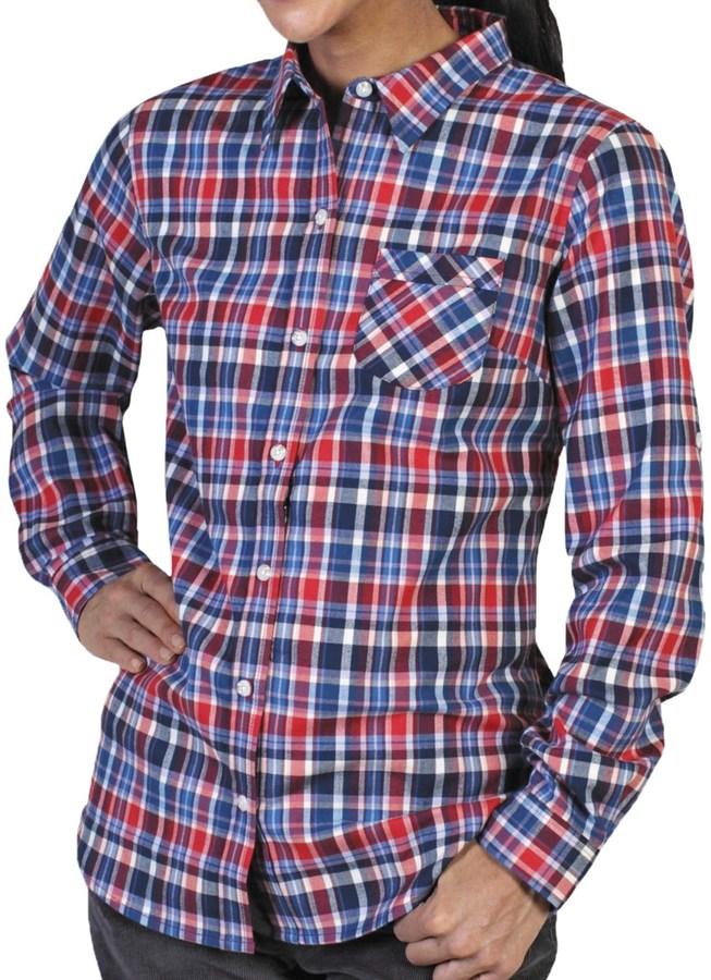 Exofficio Fortunesca Flannel Plaid Shirt - Long Sleeve (For Women)