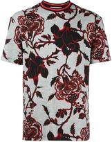 McQ by Alexander McQueen floral print T-shirt - men - Cotton - XXL